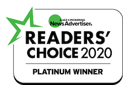Readers Choice 2020 Platinum Award Winner